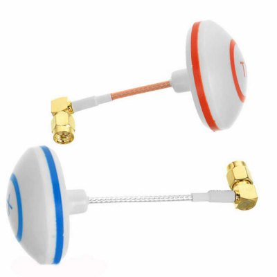 5.8G Gain Petals Mushrooms Antenna Set with 3-Leaf / 4-Leaf for FPV (L Type SMA Male)