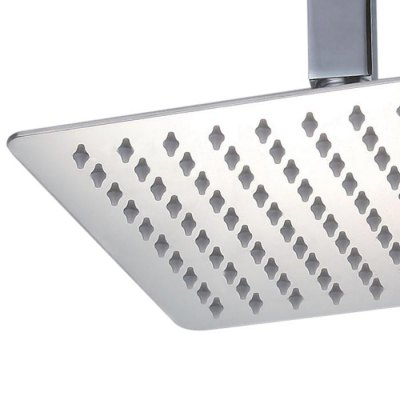 ФОТО Creative Stainless Steel Square Style Top Shower