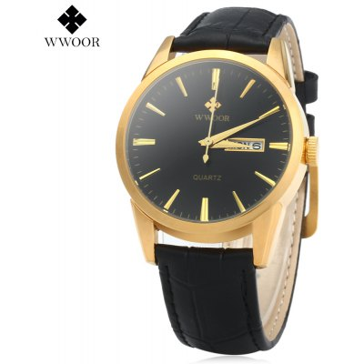 WWOOR 8801 Men Quartz Watch