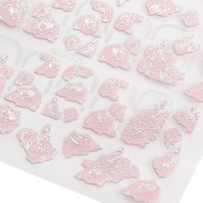 3D Nail Art Decal Tips Embossed Pink Flowers Design StickersNail Sticker<br>3D Nail Art Decal Tips Embossed Pink Flowers Design Stickers<br><br>Type: Trendy<br>Features: Easy to Carry,No Poison,Environment Friendly<br>Functions: Others<br>Style: Star<br>Material: Plastic<br>Color: Multi-color<br>Product weight: 0.001KG<br>Package weight: 0.007 KG<br>Product size (L x W x H): 9.000 x 7.300 x 0.100 cm / 3.543 x 2.874 x 0.039 inches<br>Package size (L x W x H): 5.000 x 4.000 x 4.000 cm / 1.969 x 1.575 x 1.575 inches<br>Package Contents: 1 x 3D Nail Stickers