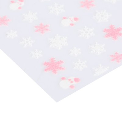 Snowflake Design Nail Sticker Manicure Decor ToolsNail Sticker<br>Snowflake Design Nail Sticker Manicure Decor Tools<br><br>Features: Easy to Carry,Lightweight,No Poison<br>Functions: Others<br>Package weight: 0.007 kg<br>Package size (L x W x H): 5.00 x 4.00 x 0.10 cm / 1.97 x 1.57 x 0.04 inches<br>Package Contents: 1 x Piece of Nail Sticker