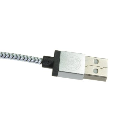 Hat-Prince 1m Weave Style Micro USB Data Sync Charge Cable