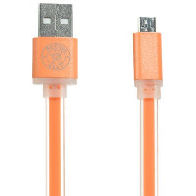 Hat-Prince Micro USB Noodle Style Data Sync Charge Cable - 1m