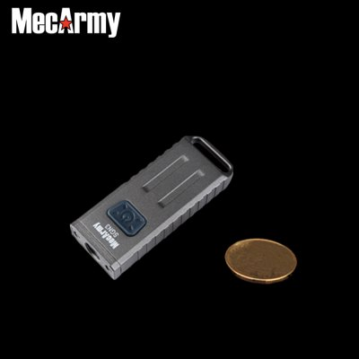 MecArmy SGN3 CREE XP - G2 Keychain LED FlashlightLED Flashlights<br>MecArmy SGN3 CREE XP - G2 Keychain LED Flashlight<br><br>Brand: MecArmy<br>Model: SGN3<br>Lamp Beads: Other,Cree XP-G2<br>Beads Number: 3<br>Lumens Range: 1-200Lumens<br>Luminous Flux: 160Lm<br>Luminous Intensity: 410cd<br>Switch Type: Clicky<br>Feature: Lightweight<br>Function: Camping,Hiking,Walking,Night Riding,Household Use,EDC<br>Battery Type: Li-ion<br>Battery Quantity: Built-in 280mAh battery<br>Mode: 3 (White Light - UV - Red Light)<br>Rechargeable: Yes<br>Power Source: USB<br>Reflector: Aluminum Smooth Reflector<br>Lens: No lens<br>Beam Distance: 0-50m<br>Body Material: Aluminium Alloy<br>Available Light Color: UV,Red,White<br>Available color: Green,Brown,Grey,Black<br>Max.: 6h<br>Product weight: 0.038 kg<br>Package weight: 0.075 kg<br>Product size (L x W x H): 5.900 x 2.300 x 1.000 cm / 2.323 x 0.906 x 0.394 inches<br>Package size (L x W x H): 8.000 x 4.500 x 3.000 cm / 3.150 x 1.772 x 1.181 inches<br>Package Contents: 1 x MecArmy SGN3 Keychain Flashlight