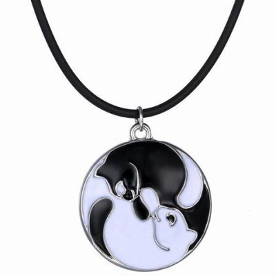 Chic Round Shape Pendant Necklace For Women