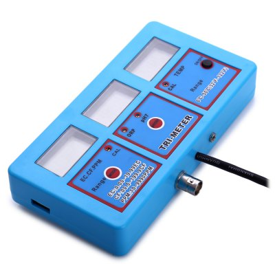 pH-118 6 in 1 Multi-parameter Water Quality Monitor pH ORP Temperature EC CF TDS Tester