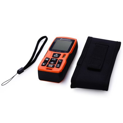 Lomvum LV40 40m Laser Distance Meter Diastimeter Water Resistant with Level BubbleLaser Rangefinder, Electronic Distance Meter<br>Lomvum LV40 40m Laser Distance Meter Diastimeter Water Resistant with Level Bubble<br><br>Brand: Lomvum<br>Model: LV40<br>Material: ABS<br>Detection Range (Meter): 0-40<br>Application: Construction / Industries<br>Certificate: CE,RoHs,FCC<br>Battery Brand: Topwaycell<br>Battery Voltage: 1.5V<br>Battery Type: AAA<br>Product weight: 0.129 kg<br>Package weight: 0.309 kg<br>Product size (L x W x H): 11.2 x 5.3 x 3 cm / 4.40 x 2.08 x 1.18 inches<br>Package size (L x W x H): 16.4 x 11.7 x 6.8 cm / 6.45 x 4.60 x 2.67 inches<br>Package Contents: 1 x Lomvum LV40 40m Laser Distance Meter, 1 x Bag, 1 x String, 1 x Chinese Manual, 2 x AAA Battery