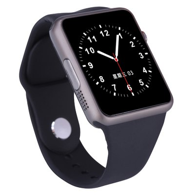 GM18 Smartwatch PhoneSmart Watch Phone<br>GM18 Smartwatch Phone<br><br>Type: Watch Phone<br>CPU: MTK6260<br>External memory: TF card up to 32GB (not included)<br>Wireless Connectivity: GSM,Bluetooth<br>Network type: GSM<br>Frequency: GSM850/900/1800/1900MHz<br>Bluetooth: Yes<br>Screen type: Capacitive,IPS,LED<br>Screen size: 1.54 inch<br>Screen resolution: 240 x 240<br>Camera type: Single camera<br>Back-camera: 0.3MP (SW2.0MP)<br>Video recording: Yes<br>SIM Card Slot: Single SIM(Micro SIM slot)<br>TF card slot: Yes<br>Micro USB Slot: Yes<br>Picture format: JPEG,GIF,BMP,PNG<br>Music format: AAC,MP3,WAV<br>Video format: 3GP<br>Languages: English, French,  Arabic,  Portuguese,  Spanish, Russian, Burmese, Thai, Vietnamese<br>Additional Features: Calculator...,MP4,MP3,FM,Bluetooth,Browser,Sound Recorder,Alarm,Calendar,People<br>Cell Phone: 1<br>Battery: 300mAh<br>USB Cable: 1<br>English Manual : 1<br>Product size: 4.900 x 4.100 x 1.150 cm / 1.929 x 1.614 x 0.453 inches<br>Package size: 9.700 x 9.700 x 8.100 cm / 3.819 x 3.819 x 3.189 inches<br>Product weight: 0.058 kg<br>Package weight: 0.260 kg
