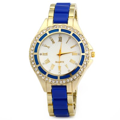 Women Quartz WatchWomens Watches<br>Women Quartz Watch<br><br>Watches categories: Female table<br>Available color: Pink,Black,Red,Blue,Rose Red<br>Style: Diamond<br>Movement type: Quartz watch<br>Shape of the dial: Round<br>Display type: Analog<br>Case material: Stainless Steel<br>Band material: Plastic and steel<br>Clasp type: Folding clasp with safety<br>The dial thickness: 1.1 cm / 0.43 inches<br>The dial diameter: 4.2 cm / 1.65 inches<br>The band width: 1.8 cm / 0.70 inches<br>Wearable length: 22 cm / 8.66 inches<br>Product weight: 0.054 kg<br>Package weight: 0.124 kg<br>Product size (L x W x H): 22.00 x 4.20 x 1.80 cm / 8.66 x 1.65 x 0.71 inches<br>Package size (L x W x H): 9.00 x 8.50 x 5.50 cm / 3.54 x 3.35 x 2.17 inches<br>Package Contents: 1 x Women Marble Mirror Quartz Watch Roman Calibration Set Auger Leisure Style
