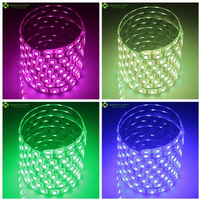 Sencart 5M 75W 300 SMD 5050 RGB LED Light Strip Pack
