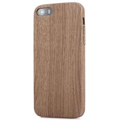 ASLING Wood Pattern Soft Protective Case for iPhone 5 / SE / 5S