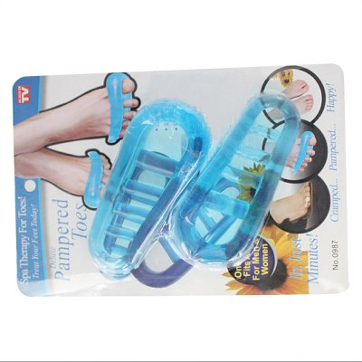 Silicone Pampered Toes Separator Spa Therapy