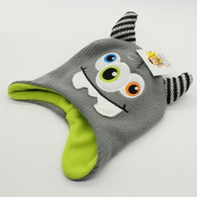Stylish Cartoon Three Eyes Embroidery Knitted Ox Horn Beanie For BoysKids Accessories<br>Stylish Cartoon Three Eyes Embroidery Knitted Ox Horn Beanie For Boys<br><br>Hat Type: Skullies Beanie<br>Group: Children<br>Gender: For Boys<br>Style: Fashion<br>Pattern Type: Character<br>Material: Acrylic<br>Weight: 0.115KG<br>Package Contents: 1 x Hat