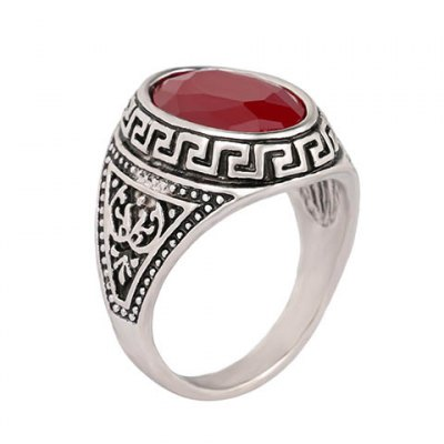Vintage Faux Gemstone Oval Carving Pattern Ring For MenRings<br>Vintage Faux Gemstone Oval Carving Pattern Ring For Men<br><br>Gender: For Men<br>Metal Type: Alloy<br>Style: Trendy<br>Shape/Pattern: Geometric<br>Diameter: 1.8CM<br>Weight: 0.060KG<br>Package Contents: 1 x Ring