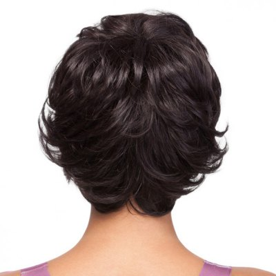 Elegant Side Bang Black Capless Stylish Short Fluffy Curly Synthetic Wig For WomenSynthetic Hair Wigs<br>Elegant Side Bang Black Capless Stylish Short Fluffy Curly Synthetic Wig For Women<br><br>Type: Full Wigs<br>Cap Construction: Capless<br>Style: Curly<br>Material: Synthetic Hair<br>Bang Type: Side<br>Length: Short<br>Length Size(CM): 20<br>Weight: 0.14KG<br>Package Contents: 1 x Wig
