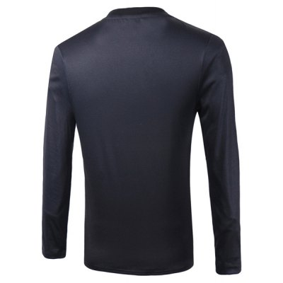 Casual Pullover Round Collar Letter 3D Printing Long Sleeve Sweatshirt For MenMens Hoodies &amp; Sweatshirts<br>Casual Pullover Round Collar Letter 3D Printing Long Sleeve Sweatshirt For Men<br><br>Material: Cotton Blends<br>Clothing Length: Regular<br>Sleeve Length: Full<br>Style: Casual<br>Weight: 0.80KG<br>Package Contents: 1 x Sweatshirt