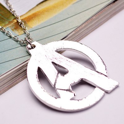 Marvel's The Avengers Alloy Pendant Necklace