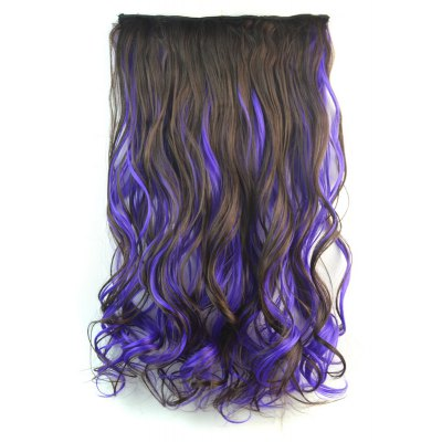 Towheaded Curly Clip In Long Synthetic Hair Extension