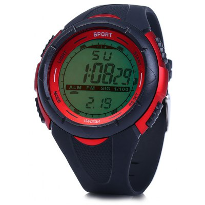 8333G Multifunctional Male LED Sports Watch