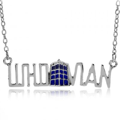 Stylish Doctor Who Pendant Necklace For Women