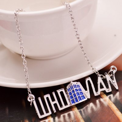 Trendy Doctor Who Pendant Necklace For Women