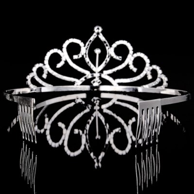 Фотография Graceful Rhinestoned Hollow Out Crown For Women