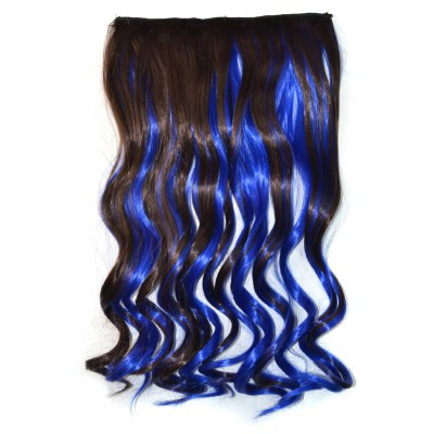 Long Synthetic Fluffy Curly Hair Extension