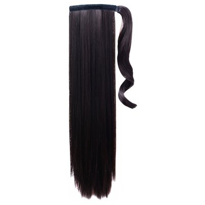 Women's Attractive Long Straight High Temperature Fiber Ponytail