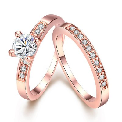 R020-A Nickle Free Antiallergic New Fashion Jewelry Gold Plated Ring
