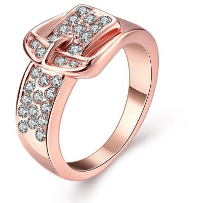 R063 Nickle Free Antiallergic New Fashion Jewelry Gold Plated Ring