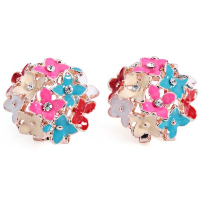Han Edition Trendy Four Leaf Shaped Jewel Encrusted Ear Stud for LadiesEarrings<br>Han Edition Trendy Four Leaf Shaped Jewel Encrusted Ear Stud for Ladies<br><br>Earring Type: Stud Earrings<br>Gender: For Women<br>Back Finding: Push-back<br>Metal Type: Alloy<br>Material: Rhinestone<br>Setting Type: Tension Mount<br>Style: Trendy<br>Shape/Pattern: Plant<br>Size (CM): 2.3cm x 2.3cm/0.9inch x 0.9inch<br>Diameter: 2.3cm/0.9inch<br>Weight: 0.03KG<br>Package Contents: 1 x Pair of Ear Stud