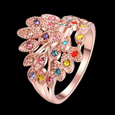 R062 Nickle Free Antiallergic New Fashion Jewelry Gold Plated RingRings<br>R062 Nickle Free Antiallergic New Fashion Jewelry Gold Plated Ring<br>
