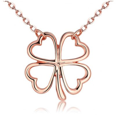N031 Nickle Free Antiallergic Real Gold Plated Necklace Pendants New Fashion Jewelry
