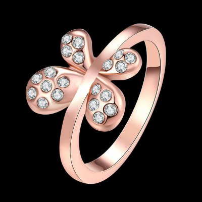 R032 Nickle Free Antiallergic New Fashion Jewelry Gold Plated Ring