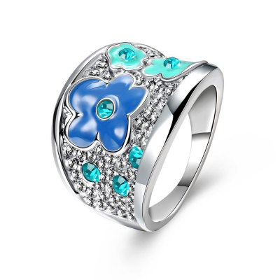 K Plated Ring