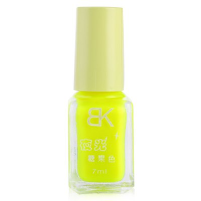 7ml bNoctilucent Fluorescent Lacquer Neon Glow In Dark Nail Polish