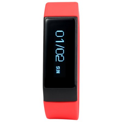 I5 Plus Smart Bluetooth 4.0 WatchSmart Watches<br>I5 Plus Smart Bluetooth 4.0 Watch<br><br>Bluetooth version: Bluetooth 4.0<br>People: Unisex table<br>Waterproof: Yes<br>Waterproof Rating : IP67<br>Colors: Black,Blue,Red<br>Screen: Yes<br>Screen type: OLED<br>Language: English,German,Italian,Russian,Spanish<br>Battery Type: Lithium-polymer battery<br>Battery Capacity: 75mAh<br>Standby time: About 5 - 7 days<br>Functions: Call reminder,Calories burned measuring,Camera remote control,Find your phone,Incoming calls show,Sedentary reminder,Sleep management,SMS Reminding,Steps counting<br>Shape of the dial: Rectangle<br>Case material: PC<br>Band material: TPU<br>The dial thickness: 0.9 cm / 0.35 inches<br>The dial diameter: 1.9 cm / 0.75 inches<br>The band width: 1.9 cm / 0.75 inches<br>Product weight: 0.024 kg<br>Package weight: 0.075 kg<br>Product size (L x W x H): 22.00 x 1.90 x 0.90 cm / 8.66 x 0.75 x 0.35 inches<br>Package size (L x W x H): 20.00 x 10.00 x 4.00 cm / 7.87 x 3.94 x 1.57 inches<br>Package Contents: 1 x I5 Plus Smart Wristband, 1 x Chinese and English Manual