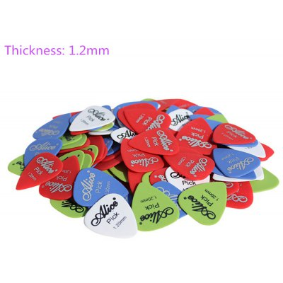 100Pcs Alice Guitar Pick