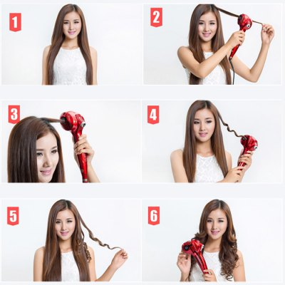 Steam Spray Automatic Hair CurlerHair Care<br>Steam Spray Automatic Hair Curler<br><br>Category: Hair Curler<br>Style: Popular<br>Material: Eectronic Cmponents,Tourmaline ceramic<br>Type: Electric<br>Season: All seasons<br>Occasion: Causal,Daily,Others<br>Application: Hair<br>Power Supply: Power<br>Product weight: 0.800 kg<br>Package weight: 1.137 kg<br>Product size (L x W x H): 30.00 x 5.00 x 6.00 cm / 11.81 x 1.97 x 2.36 inches<br>Package size (L x W x H): 35.00 x 10.00 x 9.00 cm / 13.78 x 3.94 x 3.54 inches<br>Package Contents: 1 x Hair Curler, 1 x English User Manual