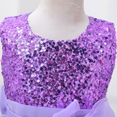 fashionable-sleeveless-multilayered-flower-spliced-sequins-embellish-mini-ball-gown-dress-for-girl