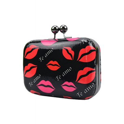 Stylish Sexy Lip Print and Kiss Lock Design Womens Evening BagWomens Bags<br>Stylish Sexy Lip Print and Kiss Lock Design Womens Evening Bag<br><br>Handbag Type: Evening Bag<br>Style: Fashion<br>Gender: For Women<br>Pattern Type: Print<br>Handbag Size: Mini(&lt;20cm)<br>Closure Type: Hasp<br>Occasion: Party<br>Main Material: PU<br>Weight: 0.380KG<br>Size(CM)(L*W*H): 15*5*10<br>Strap Length: 35CM<br>Package Contents: 1 x Evening Bag