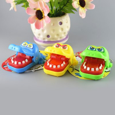 KANGKANG XKY001 Mini Evil Biting Finger Crocodile Classic Trick Game Educational Toy Family Party Toy