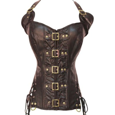 Halter Self-Tie Corset For Women