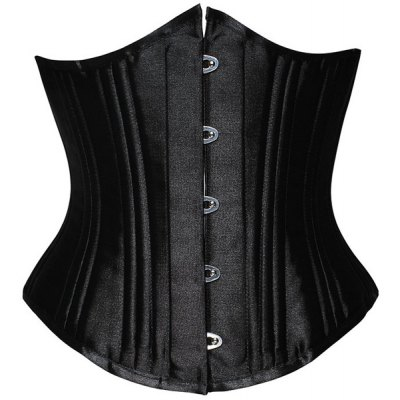 Chic Strapless Solid Color Women's Corset