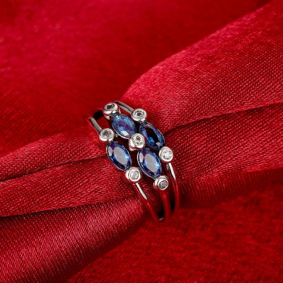 R414-A-8 Nickle Free Antiallergic New Fashion Jewelry Zircon RingRings<br>R414-A-8 Nickle Free Antiallergic New Fashion Jewelry Zircon Ring<br>