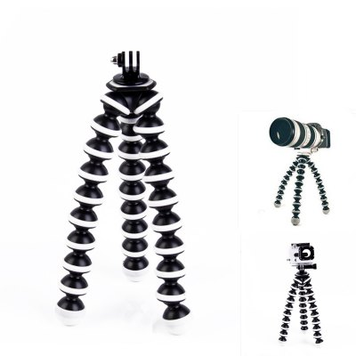 2-in-1 Octopus Multi-Function Tripod Mounted Stand