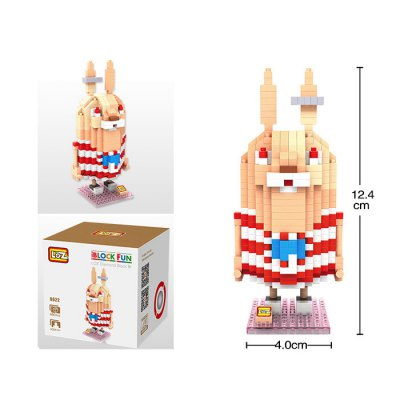 460Pcs LOZ 9622 Usavich Figure Kirenenko Building Block Toy for Enhancing Social Cooperation Ability