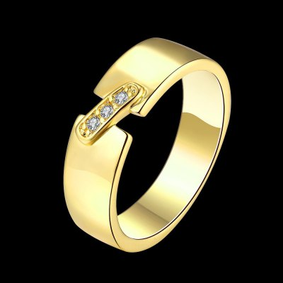 R395-A-8 Nickle Free Antiallergic New Fashion Jewelry Zircon Ring