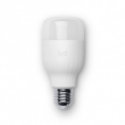 Original Xiaomi Yeelight E27 Smart LED BulbSmart Lighting<br>Original Xiaomi Yeelight E27 Smart LED Bulb<br><br>Brand: Xiaomi<br>Power: 8W<br>Current : 0.1A<br>Voltage: AC220V<br>Lumen: 600lm<br>Color Temperature: 4000K<br>Features: Energy Efficient,Remote Controlled,Timing<br>Product weight: 0.145 kg<br>Package weight: 0.170 kg<br>Product Size  ( L x W x H ): 12.00 x 5.50 x 5.50 cm / 4.72 x 2.17 x 2.17 inches<br>Package Size ( L x W x H ): 13.00 x 6.50 x 6.50 cm / 5.12 x 2.56 x 2.56 inches<br>Package Contents: 1 x Original Xiaomi Yeelight E27 Smart LED Bulb, 1 x Chinese User Manual