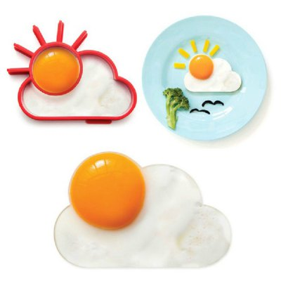 Lovely Sun Cloud Style Fried Egg Silicone Mould
